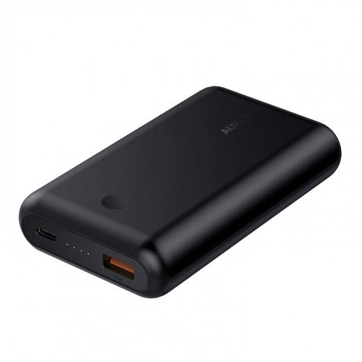 Aukey Power Bank 10,050mAh Dual USB Type-C QC 3.0 - Black