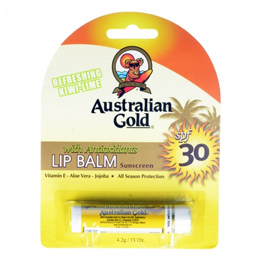 Australian Gold SPF 30 Lip Balm Sunscreen 4.2g