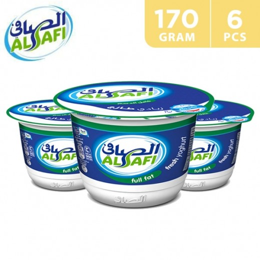 Al Safi Full Fat Yoghurt 6 x 170 g