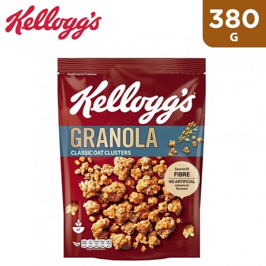 Kellogg's Classic Oat Cluster Granola 380 g