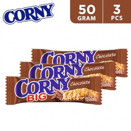 Corny Big Chocolate Cereal Bar 3 x 50 g