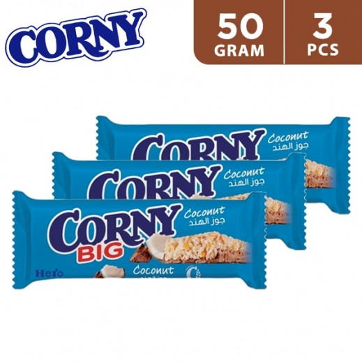 Corny Big Coconut Cereal Bar 3 x 50 g