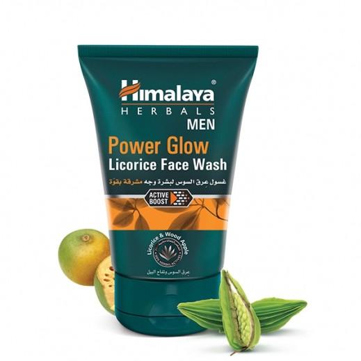 Himalaya Men Power Glow Licorice Face Wash 100 ml