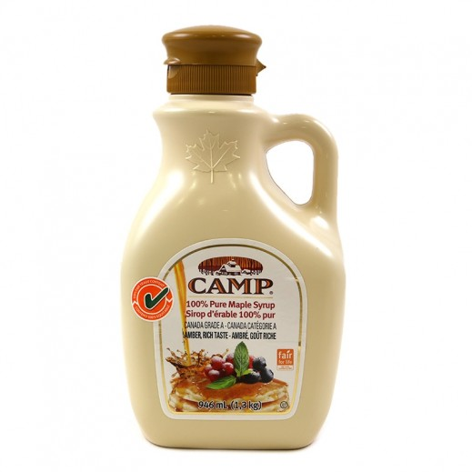 Baxters Canadian Maple Syrup Camp 946 ml