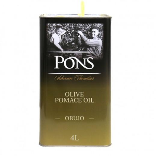 Pons Pomace Olive Oil 4 L