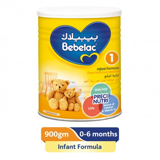 Bebelac First Infant Milk Stage 1 900 g (From 0-6 Months)