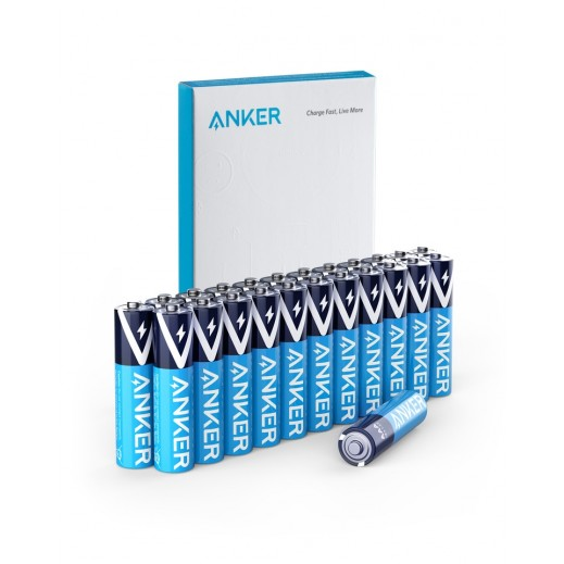 Anker Alkaline AA Batteries Jumbo pack (100-Pack)
