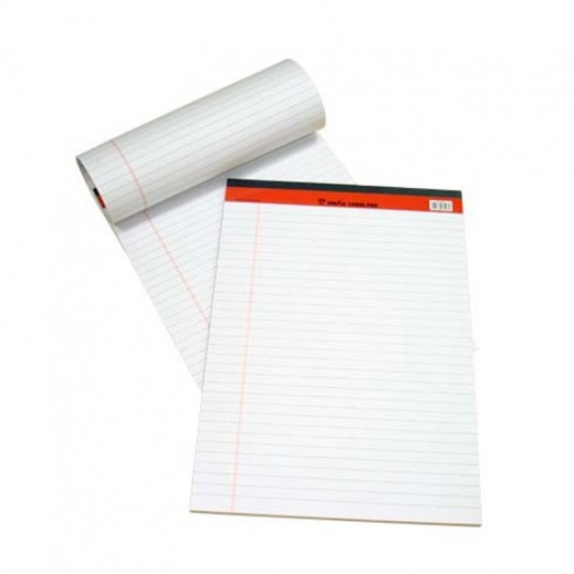 Sinarline Legal Pad White A5 Size 10 pieces