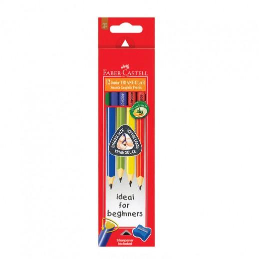 Faber Castell Junior Graphite Pencil 12 pieces