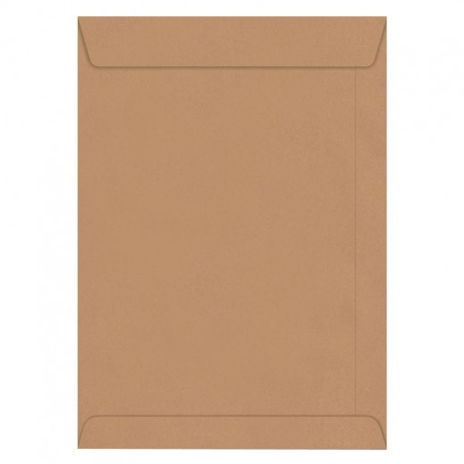 Hispapel A4 Envelope Brown 250 pieces