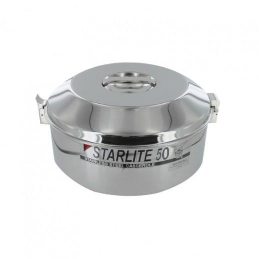 Eagle Starlite Stainless Steel Casserole 50 cm