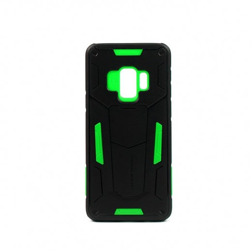 Nillkin Defender Case For Samsung S9 - Black/Green