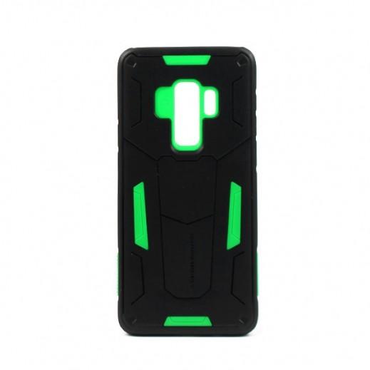 Nillkin Defender Case For Samsung S9+ - Black/Green