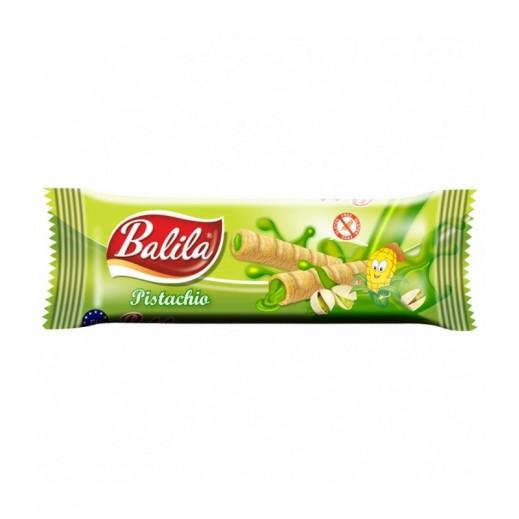 Balila Puffy Corn Fingers Filled w/ Pistachio Flavour Cream 15 g
