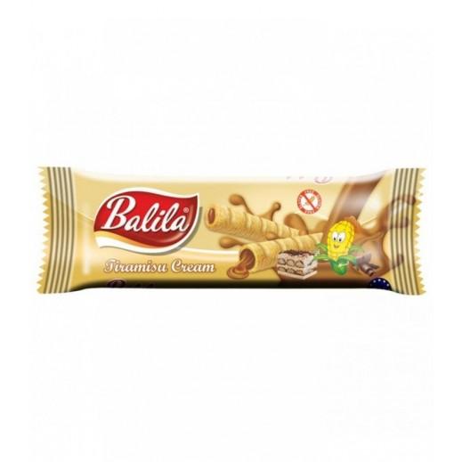 Balila Puffy Corn Fingers Filled w/ Tiramisu Flavour Cream 15 g