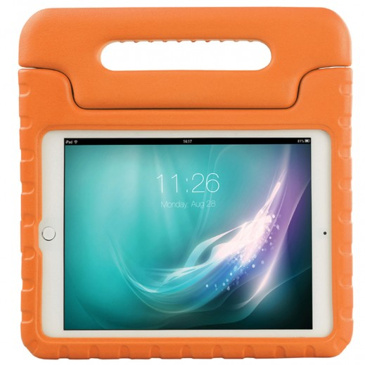 Promate Shockproof Kiddie Case with Convertible Stand For iPad Mini 3 Orange