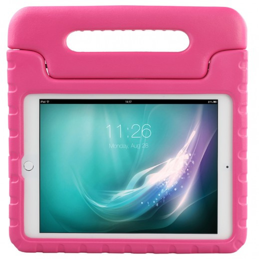 Promate Shockproof Kiddie Case with Convertible Stand For iPad Mini 3 Pink