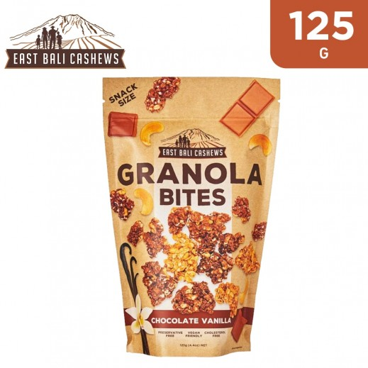 East Bali Cashews Chocolate Vanilla Granola Bites 125 g