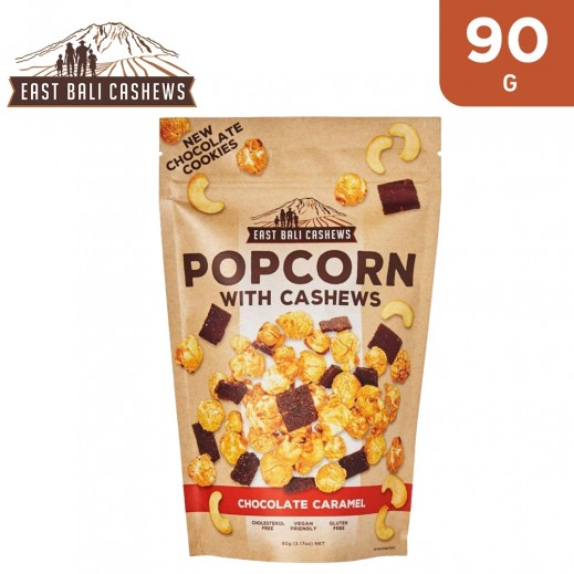 East Bali Cashews Chocolate Caramel Popcorn W/ Cashews 90 g
