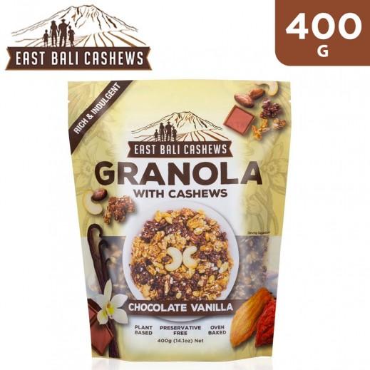 East Bali Cashew Granola Chocolate Vanilla Cereal 400 g