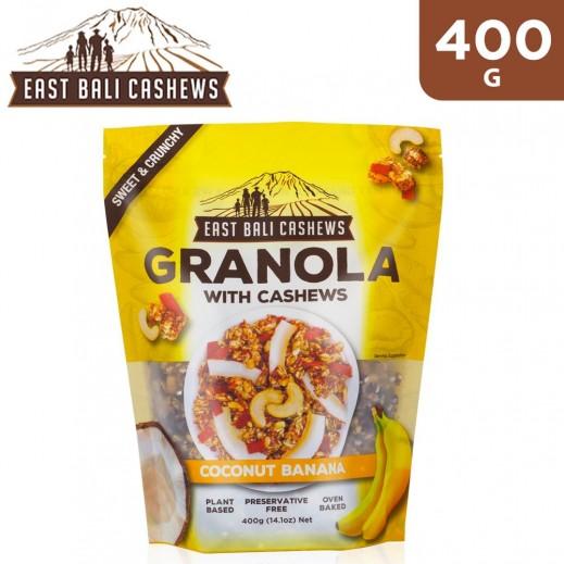 East Bali Cashew Granola Coconut Banana Cereal 400 g