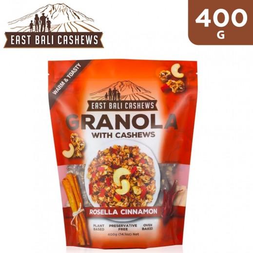 East Bali Cashew Granola Rosella Cinnamon Cereal 400 g