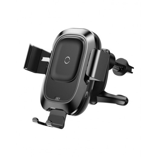 Baseus Intelligent Wireless Charger Air Vent Mount - Black