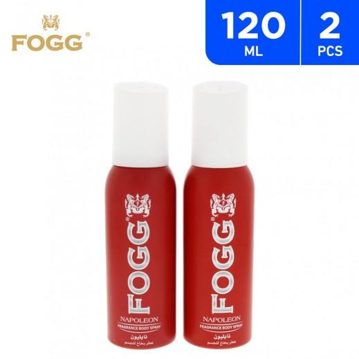 Fogg Men Napoleon Spray 2 X 120 ml
