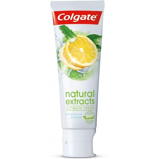 Colgate Natural Extracts Ultimate Fresh with Lemon and Aloe Vera Toothpaste 75 ml