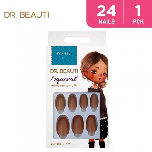 Dr.Beauti Squoral Tiramisu 24 Nails