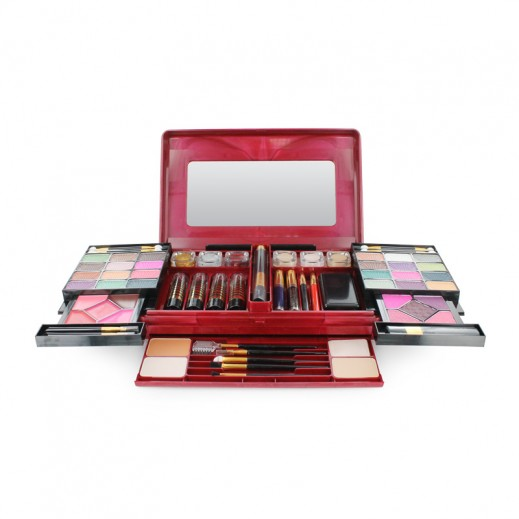 Victoria Iconic Collection Treasure Makeup Kit For Her Large – Maroon