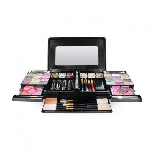 Victoria Iconic Collection Treasure Makeup Kit For Her Large – Black