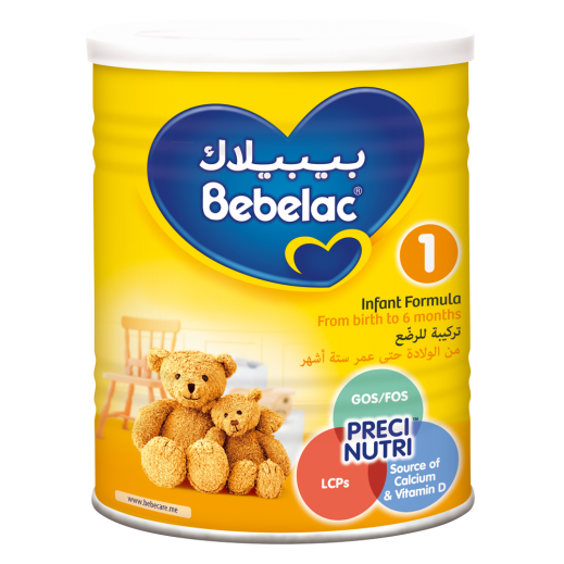 Bebelac First Infant Milk Stage 1 400 g (From 0-6 Months)