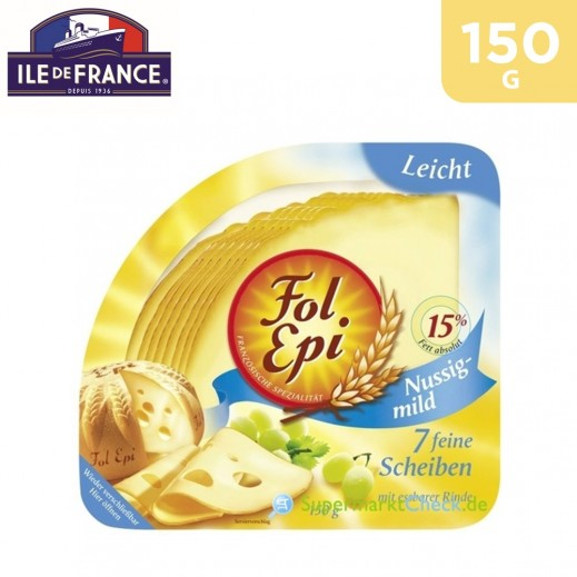 Ile De France Fol Epi Leicht Mussing & Mild Cheese 150 g