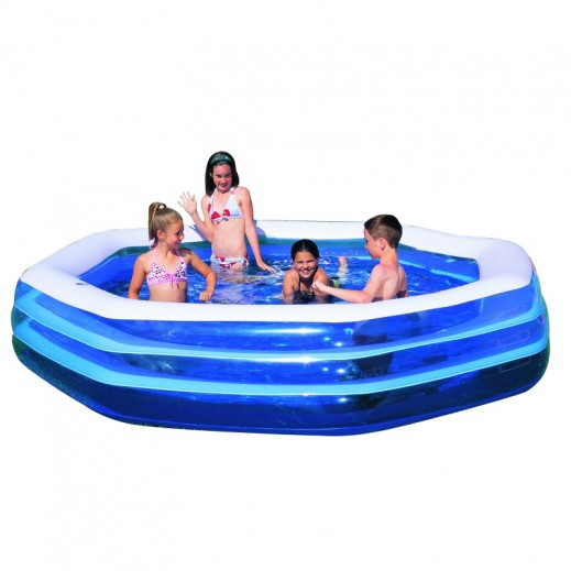 Bestway Deluxe Octagon Family Pool 305 x 58 cm