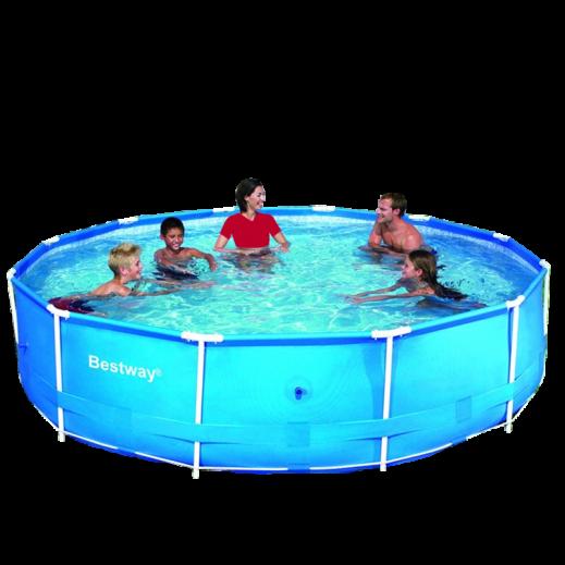 bestway steel pro frame pool. Black Bedroom Furniture Sets. Home Design Ideas