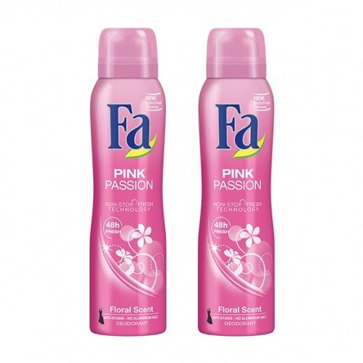 Fa Pink Passion Deodorant 2 x 150 ml Prom