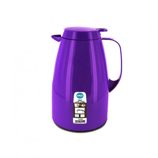 Emsa Basic Vacuum Flask 1.5 ltr Purple