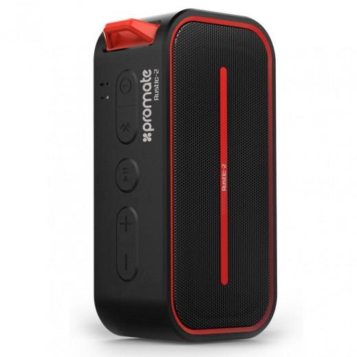 Promate Portable IPX5 Water Resistant Wireless Speaker Black