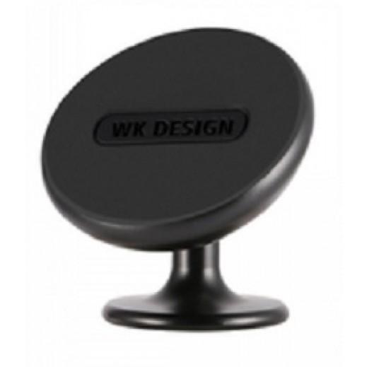 WK Design Magnetic Mobile Phone Car Holder - Black