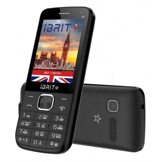 iBRIT BX Dual SIM Mobile Phone - Black