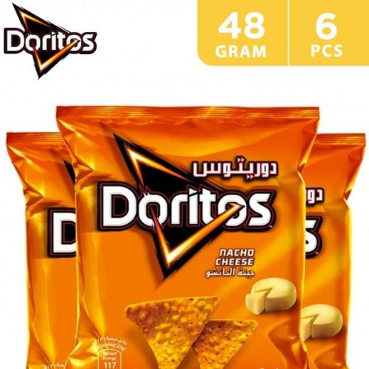 Doritos Nacho Cheese Tortilla Chips Duplex 6 x 48 g