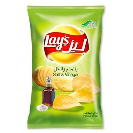 Lays Salt  Vinegar Chips 160 g