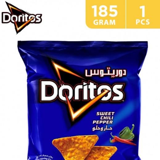 Doritos Sweet Chilli Pepper Tortilla Chips 185 g