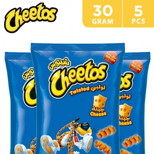 Cheetos Twisted 30 g (5 Pieces)