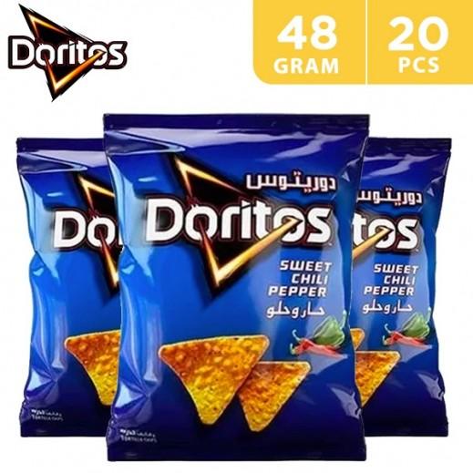 Doritos Corn Chips Sweet Chili 20 x 48 g
