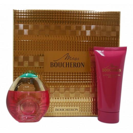 Miss Boucheron By Boucheron Gift Set For Her EDP 50 ml + Body Milk 100 ml