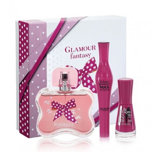 Bourjois Glamour Fantasy Gift Set For Her EDP 80 ml + Mascara + Nail Polish