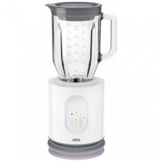 Braun Blender 1.6L 900 W - White  - delivered by Union Trading Company