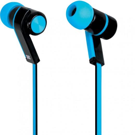 Promate Brazen Universal Sporty Stereo Earphones Blue